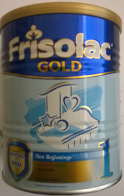 3 * 400 GRAMM CAN FRISOLAC GOLD 1  infant milk from 0 to 6 month MADE in HOLLAND