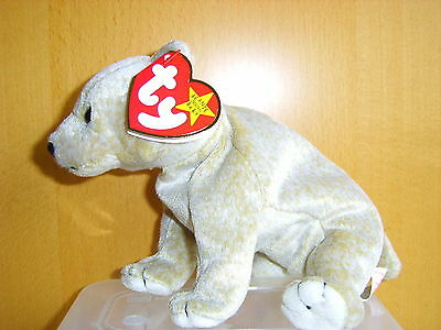 Ty Beanie Babies Soft Toy Almond The Bear Ty Beanies