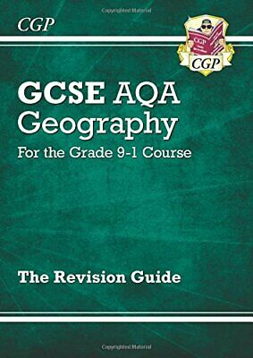 New GCSE 9-1 Geography AQA Revision Guide (with Online Ed) - New... by CGP Books