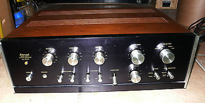 Sansui Au555A Integrated Amplifier Amplificateur Stereo Super Vintage