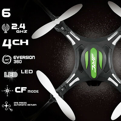 JJRC H8 Mini RC Quadcopter Drone 4CH One Key Return Helicopter Aircraft Headless