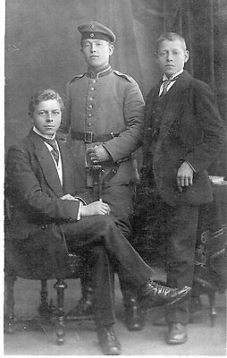 Ww1 Original German Photo Postcard