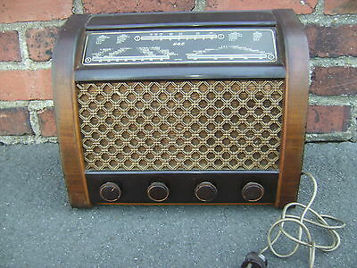 REDUCED GEC ART DECO 1930's 1940's RADIO, GREAT LOOK, SUPER CONDITION, WORKING