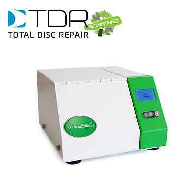 TDR Reconditioned VMI 2550 Disc Repair Machine - fix CD, DVD, Xbox, PS3, Wii