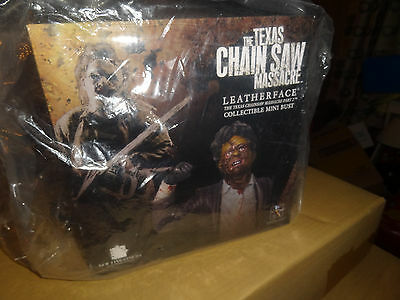 Gentle Giant Leatherface Bust Texas Chainsaw Massacre new sealed