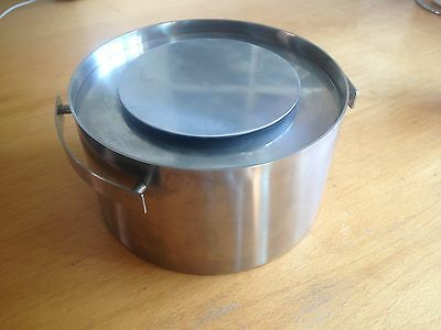 Cylinda-Line by Arne Jacobsen for STELTON - Rare thermo serving bowl