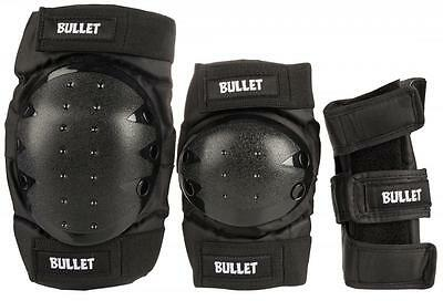 Bullet Skateboard Protection Knee Pads + Elbow Pads And Wrist Guards Junior