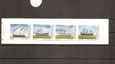 Portugal 1993 SG2345-8 4v NHM Booklet Stamps Trawlers (1st)