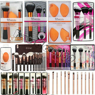 Pro Real Techniques Eye Makeup Nic Picks Brushes Set Core Collection Starter Kit