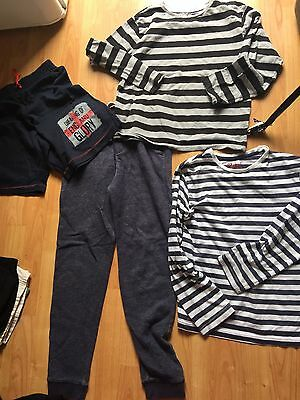 Boys Clothes Bundle Of Boys Stylish 2 Tops And Bottom Trousers Age 9-10 Years