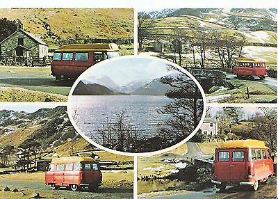 Royal Mail Postcard - Views of Royal Mail Buses - Martindale - Penrith   AB2510