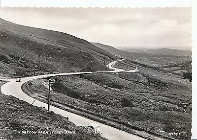 Wales Postcard - Brecon from Storey Arms - Real Photograph  AB2511
