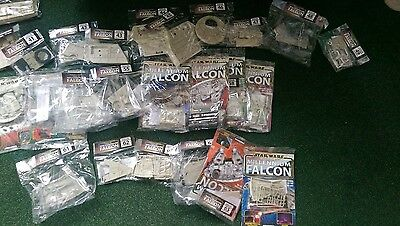 Deagostini Build The Millennium Falcon Model Issues 1 to 66 Star Wars Rare kit
