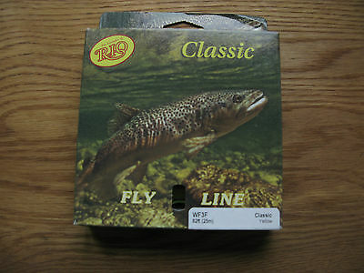 Rio Classic WF3 Floating Fly line