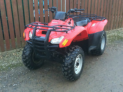 2013 Honda Fourtrax Trx 420 Fm - 4Wd Quad Atv Road Legal Agri Reg
