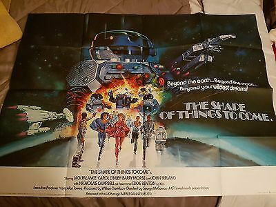 The Shape of Things to Come - British UK Quad Poster