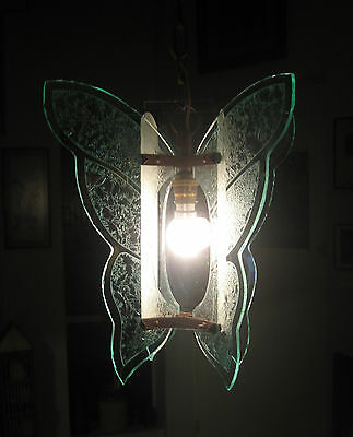 An Art Deco Butterfly Hall Light ...beautiful And Rare