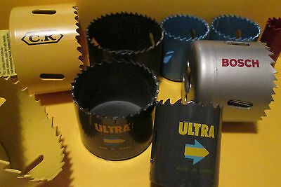 Hole Saw Bi-Metal Holesaw Many Sizes And Makes / Brands Top Quality = Best