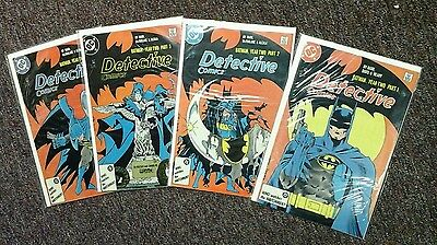 Detective Comics - Complete Set Year Two w/Issue #s 575-578, Batman NM - range