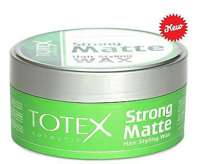 Totex Hair Styling Wax Strong Matte Look 150 ml Professional Use