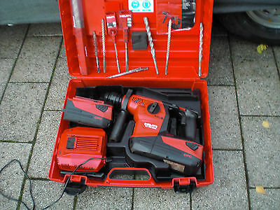New Shape Hilti Full Kit TE30-A 36v Cordless Hammer Drill 2 x 6.0 Batteries