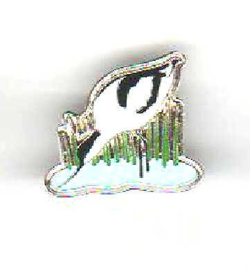 RSPB pin badge Avocet early badge on #16 and Number 16 birds for people for ever