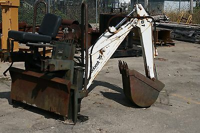 """Bobcat 907 Backhoe Attachment for Skid Steer with 16"""" Bucket"""