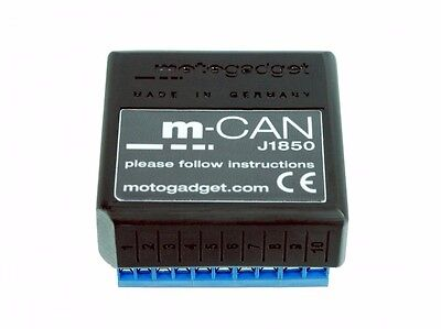 Motogadget Motoscope Pro Harley Breakout Box J1850 w/ MOLEX Connector MG1003115