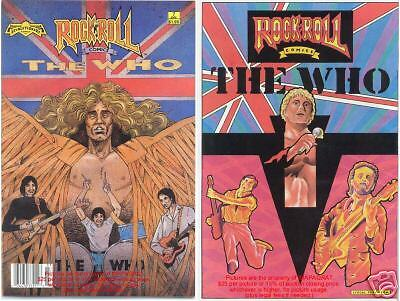 The WHO Pete Townsend Comic NM 1st PRINTING! MUST HAVE!