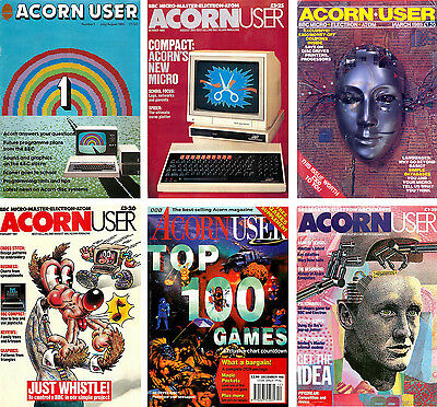 PDF ACORN MAGAZINE ALL 267 Issues on 5 DVDs