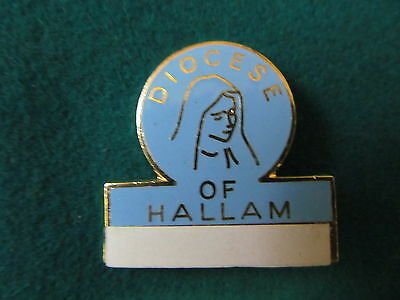 Roman Catholic Diocese of Hallam lapel Name badge