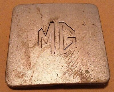MG car badge 4.75 inches square
