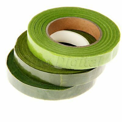 Florist Stem Tape Wire Floral Work Plastron Wrinkle Paper Floral Tape Green 12mm
