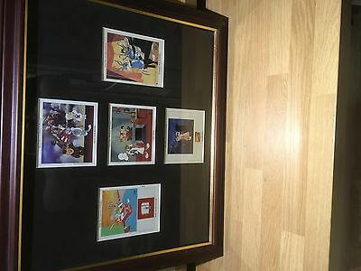 5 X Warner Bros collectable Cel. Chuck Jones Signed Limited Edition 1996.