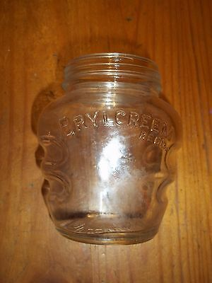 Vintage Old Early 1940's wartime era. BRYLCREEM  hair cream bottle