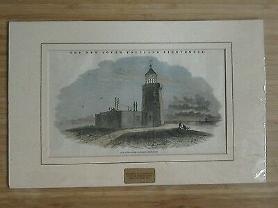 Antique print picture New South Foreland Lighthouse