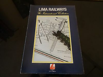 Vintage CATALOGUE LIMA  H0 LIMA RAILWAYS  INTERNATIONAL COLLECTION 1st Edition