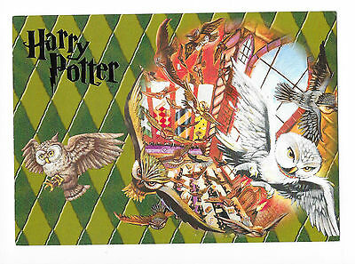 Carte Postale Harry Potter Chouettes Hedwige (12)