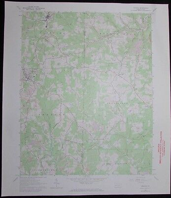 Chicora Pennsylvania Donegal Karns City vintage 1973 old USGS Topo chart