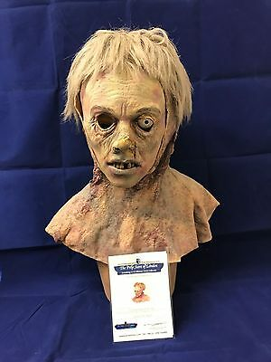 Wow rare horror film movie prop genuine zombie face mask from land of the dead