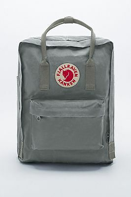 Mochila in Fjall Raven Kanken Classic Style Gray Swedish arctic fox backpack