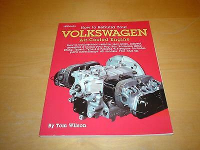 Rebuild PORSCHE 914 VW SQUAREBACK 411 AIR-COOLED ENGINES Owners Manual Handbook