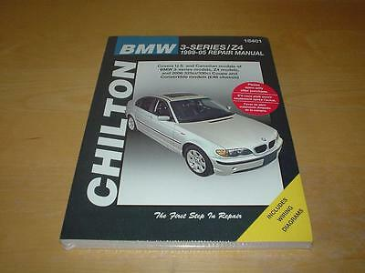 BMW 3 SERIES E46 Z4 COUPE CONVERTIBLE Owners Handbook Manual Chilton By Haynes