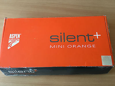 Aspen Mini Orange Silent + FP3313 Condensate Pump with Anti Siphoning device