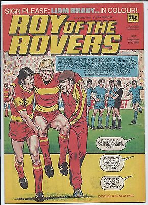 Roy of the Rovers Comic , 1st June 1985