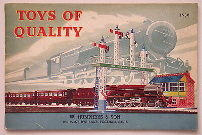 MECCANO, HORNBY TRAINS, DINKY TOYS - TOYS OF QUALITY CATALOGUE 1938 - Excellent