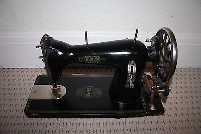 Vintage extremely rare beautiful mechanical sewing machine SAN