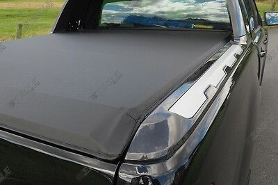 Ford Ranger Wildtrak 16+ Soft Roll Up Bed Cover Tonneau Cover - NO DRILL