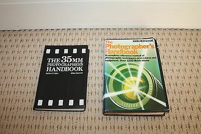 Job lot of two film photography books