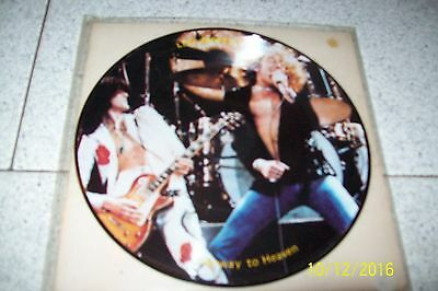 """Led Zeppelin Stairway To Heaven 7"""" Picture  Disc/ Stpr 268/269"""